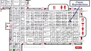 Nec Birmingham Floor Plan Classic Repro Homepage