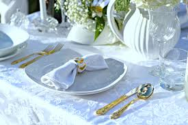 How To Set A Table For Dinner by How To Set A Table For Two White And Gold Naturally Glam