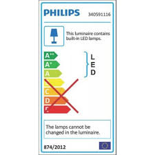 philips fit led bathroom wall light chrome 560lm 20w screwfix ie