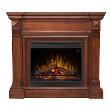 Electric Fireplace With Mantel 48 5 Dimplex William Electric Fireplace Mantel In Burnished Walnut