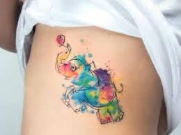 17 wonderful watercolor tattoo designs