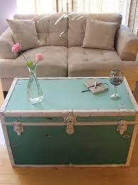 steamer trunk side table 16 old trunks turned coffee tables that bring extra storage and