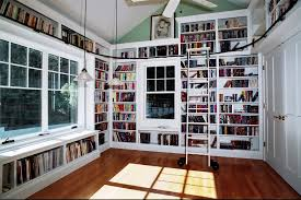 ideas about small home libraries on pinterest office library