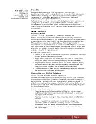 Rn Resume Cover Letter Examples by Oncology Nurse Cover Letter
