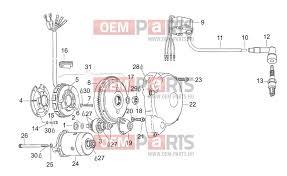 Ignition Parts Uk Aprilia Rs 125 1996 1998 Eng 123cc Ch D Dk E F J Nl P Pl