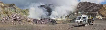 volcanic air safaris area information white island