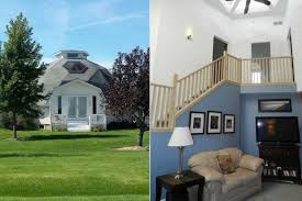 dome home interiors 10 dome houses for sale photos abc news