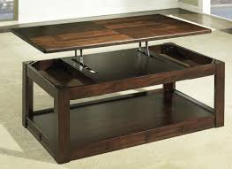 make a coffee table that lifts