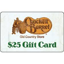 dining gift cards cracker barrel country store gift card entertainment