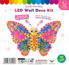 wall deco kit my butterfly pack of 10