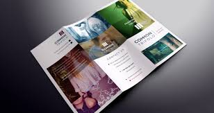 tri fold brochure ai template simple tri fold brochure template free psd indesign ai brochure