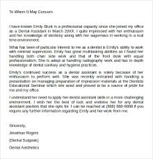awesome collection of letter of recommendation work sample also