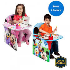 disney chair desk with storage desk chair with storage bin your choice of character