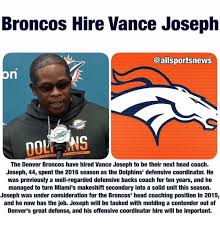 Broncos Defense Memes - 25 best memes about vance joseph vance joseph memes