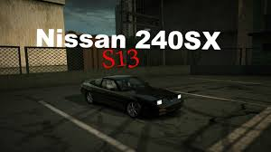 jdm nissan 240sx nfs world jdm nissan 240sx s13 test drive youtube