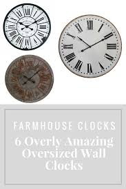 6 overly amazing oversized wall clocks make a statement in your