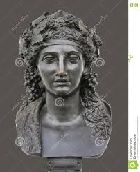 bronze statue of dionysus stock photo image 75041100