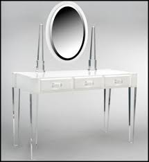 Clear Vanity Table Fancy Clear Vanity Table With Glass Makeup Vanity Table Furniture