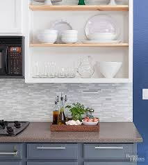 glass tile for backsplash in kitchen glass tile backsplash