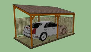 Garage Plans Cost To Build How To Build A Lean To Carport Howtospecialist How To Build