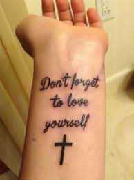cross beautiful back gallery tattoos on wrist design