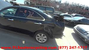 used lexus es 350 for sale in nh parting out 2009 lexus es 350 stock 6238pr tls auto recycling