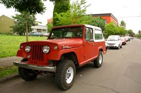 jeep wrangler commando old parked cars 1968 jeep jeepster commando