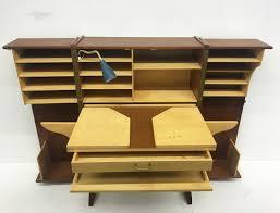 Wohnzimmerschrank Um 1960 Mid Century Schrank Mit Ausziehbarem Schreibtisch Von Mummenthaler