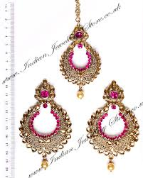 earrings photos buy arora earrings tikka iac010275c indian jewellery store
