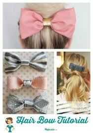 how to make a hair bow easy 26 easy how to make hair bows step by step tip junkie