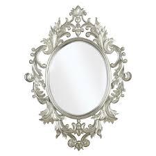 White Wall Mirror Shabby Chic Mirrors Chic Romance Hayneedle