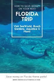 3 money saving packages for seaworld busch gardens florida trip