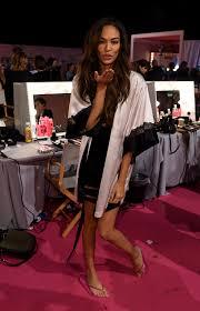 joan smalls on backstage 2014 u0027s secret fashion