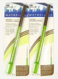 2 maybelline define a brow eyebrow pencil 646 dark blonde