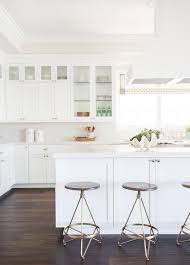 white herringbone kitchen tiles with gray grout transitional