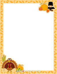 paper borders printables fall harvest stationery
