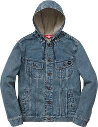 jean sweater jacket supreme hooded denim jacket curatedsupply com