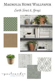 Magnolia Home Decor by Add Some Wow To Your Walls With Joanna Gaines U0027 New Wallpaper
