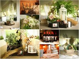 Lantern Centerpieces Wedding Rustic Garden Accent Ideas From A Real Wedding Love The Lantern