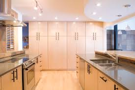 Ceiling Height Cabinets Birch Kitchen Cabinets Kitchen Contemporary With Curve Ceiling