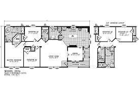 Karsten Homes Floor Plans by Manufactured Home Floor Plan 2007 Karsten Karsten 262a