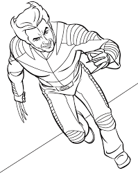 men coloring pages wolverine free printable wolverine coloring
