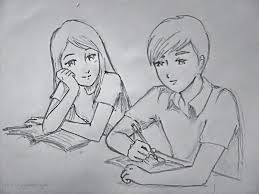 pictures easy pencil drawings of love drawings art gallery