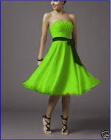wholesale lime green bridesmaid dresses buy cheap lime green