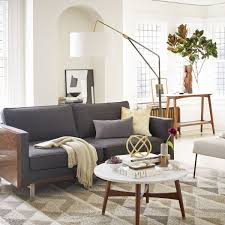 west elm reeve coffee table reeve mid century coffee table marble walnut west elm uk