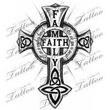 cross custom family faith celtic cross 22052
