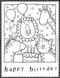 best 25 birthday cards ideas best 25 birthday coloring pages ideas on happy