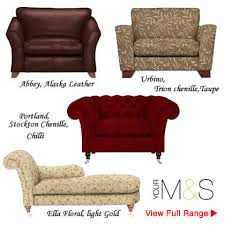 Marks And Spencer Leather Sofas Buy Leather Fabric Seats On Sale At M S