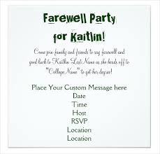 going away to college invitations goodbye dinner invitation going away party invitation wording