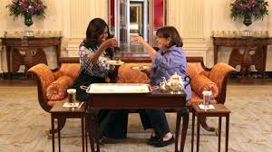 ina garten visits michelle obama in the white house instyle com